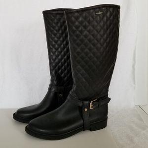 Ladies London Fog Rain Boots Size 9